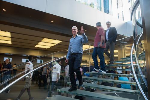 Reunión en Apple con Tim Cook: esto es lo que ha dicho el CEO a sus empleados