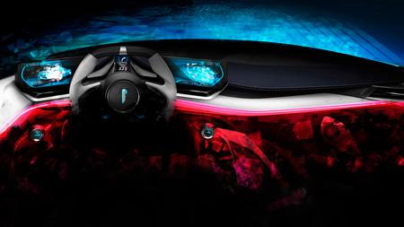 Pininfarina PF0 Concept, teaser del habitáculo