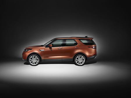 Nuevo Land Rover Discovery Studio Side
