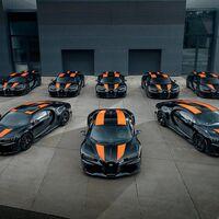 Listas las primeras ocho unidades del poderoso Bugatti Chiron Super Sport 300+