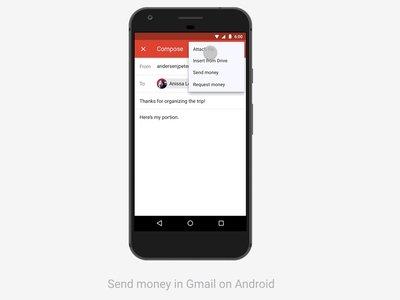 Gmail permitirá enviar y recibir dinero, de momento en Estados Unidos