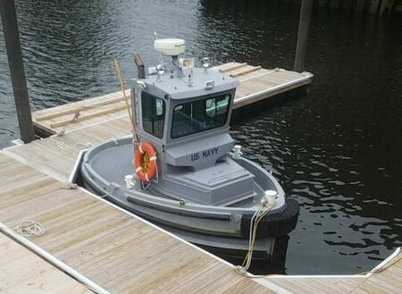 No es ni un barquito de vela ni un LEGO: es el Boomin Beaver, el barco más pequeño de la Armada de los Estados Unidos