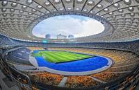 El estadio Olímpico de Kiev