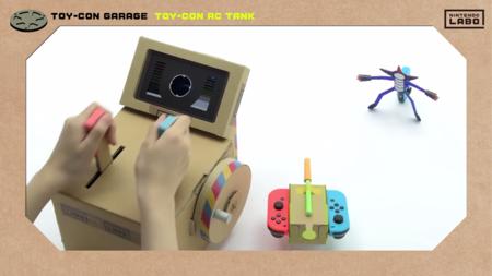 Aprende a crear un resultón tanque teledirigido  con Nintendo Labo y este sencillo videotutorial