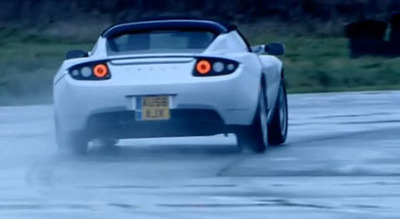 Top Gear y el Tesla Roadster