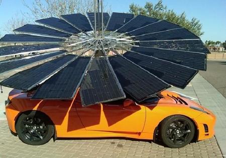Lotus Mobile: un sistema portable de placas solares por menos de 3.200 euros