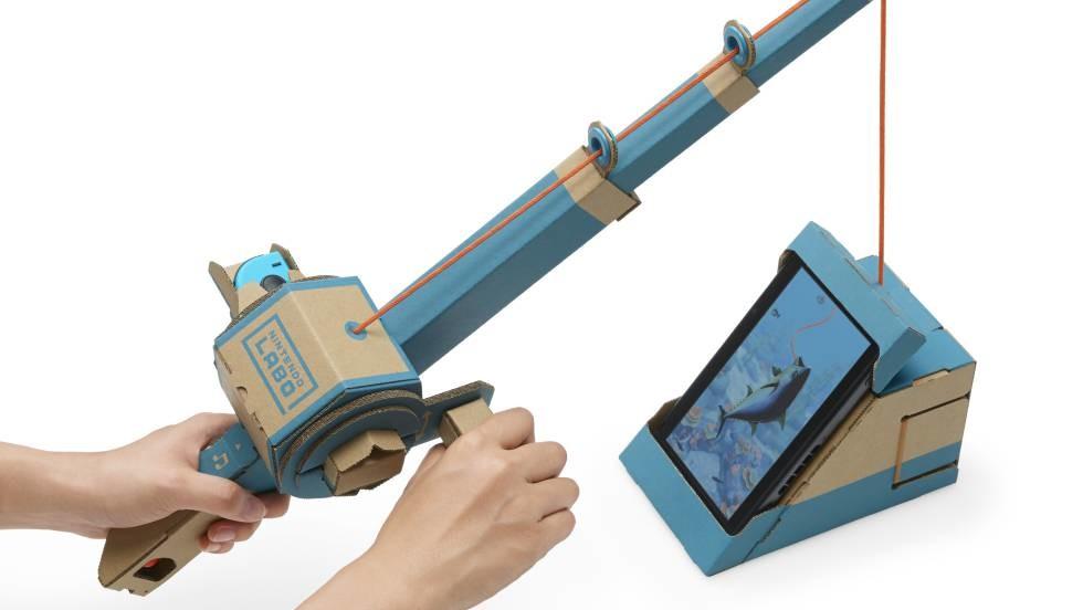 Nintendo Labo Cana Pescar