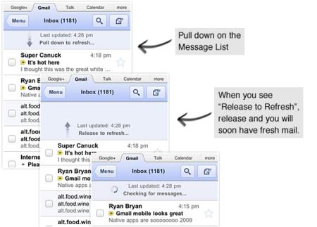 Gmail se actualiza para iPhone con soporte para Retina Display