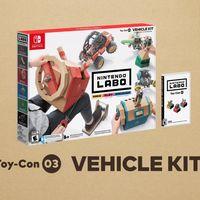 Corre, navega y vuela: así es el Kit Vehículo, el nuevo Nintendo Labo que llegará en septiembre