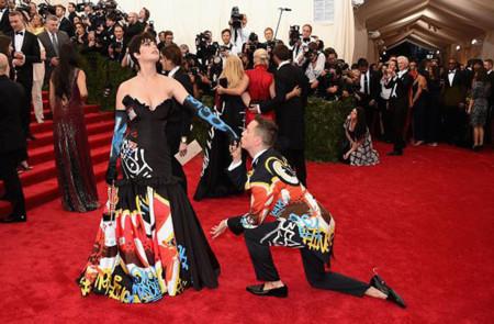 Katy Perry Madonna Gala Met