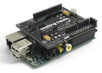 Utiliza todos los escudos de Arduino en la Raspberry Pi gracias a esta interfaz