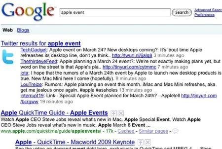 Google podría estar a punto de lanzar un buscador de microblogs