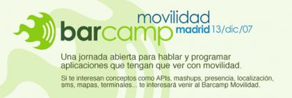 Barcamp movilidad en Madrid