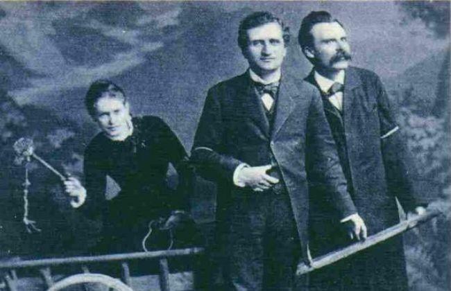 Lou Andreas-Salomé, Rilke, Nietzsche