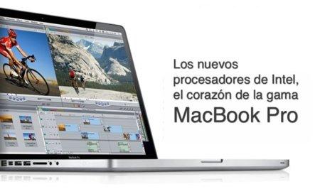 Los procesadores usados por Apple en su última actualización de la gama MacBook Pro