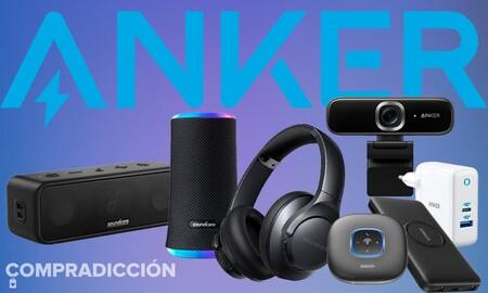 Auriculares, altavoces, webcams o cargadores: Amazon tiene los productos Anker más baratos del momento