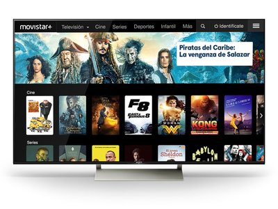 Movistar+ ya disponible para Android TV en televisores Sony