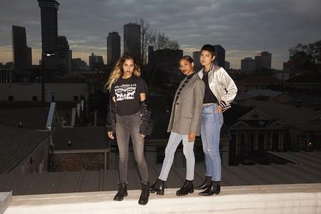 Los Levi's skinny, los jeans más socorridos para para lucir 24 horas al día. ¡Gigi Hadid  no se los quita!