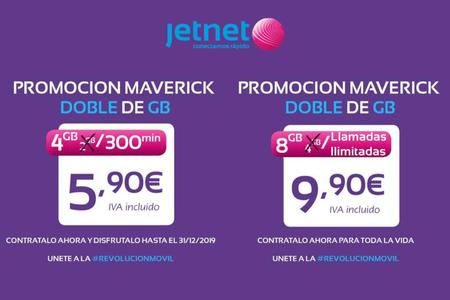 Jetnet dobla los gigas en su campaña de verano: minutos ilimitados y 8 GB por 9,90 euros para siempre