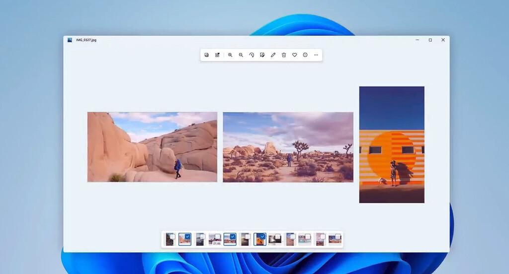 Windows 11 llega con nueva versión de Fotos, la aplicación que cambia de look y añade un carrusel para navegar por la fototeca