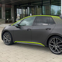 ¡Muy bestia! El Volkswagen ID.X concept es la versión más bruta del ID.3 y supera en potencia al Golf R