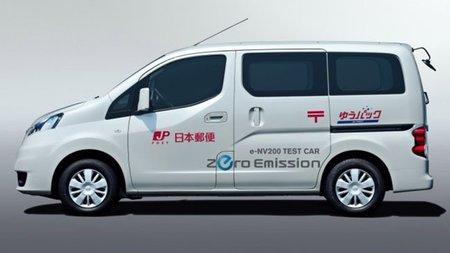 Nissan comienza las pruebas de su furgoneta eléctrica