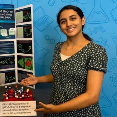 Una adolescente de 14 años desarrolla un posible tratamiento contra el Covid-19
