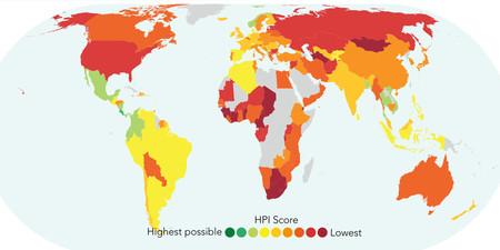 Este mapa interactivo muestra cuáles son los países más felices del planeta