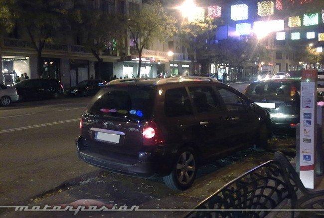 Punto de recarga en Madrid