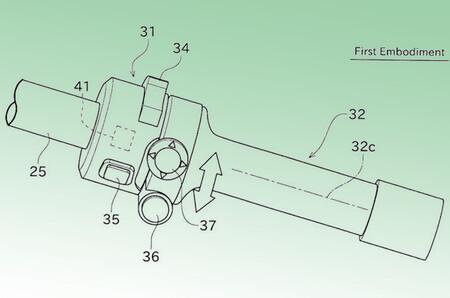 Kawasaki Moto Hibrida Funcion Boost Patentes 2