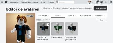Cómo editar tu avatar en Roblox