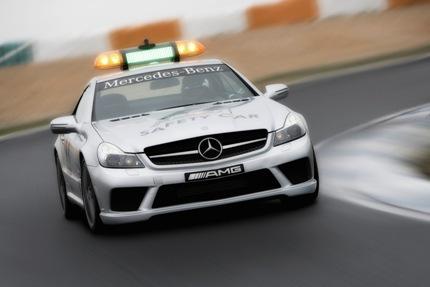 Potencia Mercedes-Benz AMG para la seguridad del Mundial de Fórmula 1