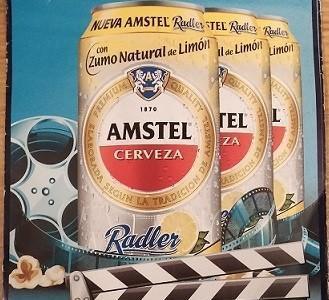 Entradas de cine gratis con la compra de Amstel