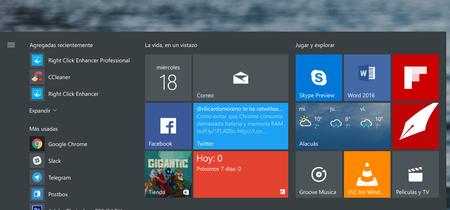 Cómo hacer un respaldo de los elementos de tu menú de inicio en Windows 10