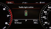 Audi y los semáforos hablarán en el mismo idioma