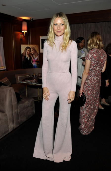 Gwyneth Paltrow Attends The Hollywood Reporter And Jimmy Choo S Stylist Dinner