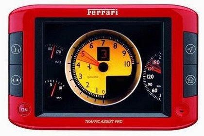 GPS Ferrari por Becker