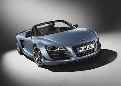 Audi R8 GT Spyder, se destapa otra serie limitada