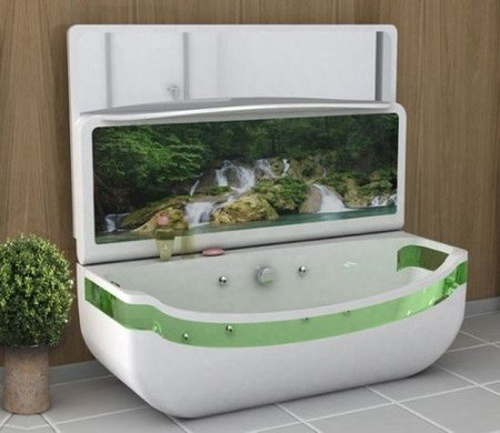 bañera lavabo