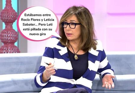 Ana Rosa Quintana desvela la clave por la que ficharon a Rocío Flores como colaboradora de su programa
