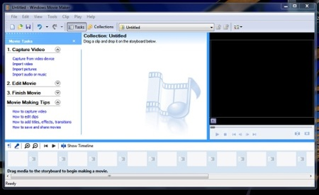 Movie Maker Portable en Windows 7