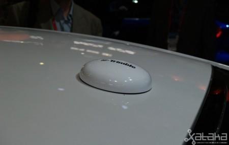 Ford coche autónomo MWC 2014 antena GPS alta precisión