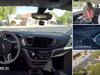 El coche autónomo de Google (Waymo) se vuelve completamente autónomo y por primera vez sale a la calle sin conductor