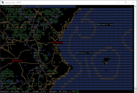 Mapas Terminal Windows