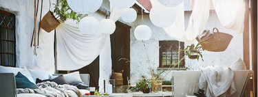 Gracias a Ikea, tu jardín o terraza puede tener una bonita iluminación sin necesidad de cables ni enchufes