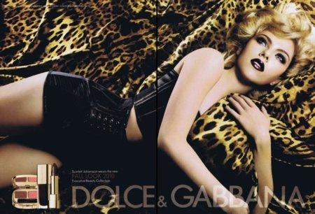 Nueva imagen de Scarlett Johansson en la campaña para Dolce & Gabbana