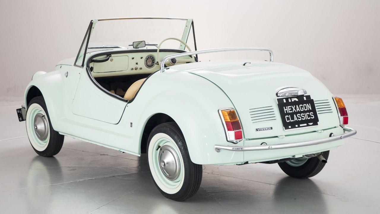 Foto de Fiat 500 Gamine by Vignale (2/11)