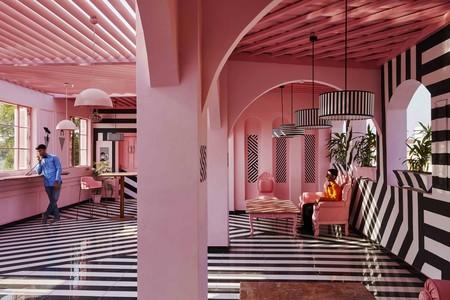 Viajamos a la India para descubrir The Pink Zebra, un restaurante cuyo diseño difícilmente te dejará indiferente