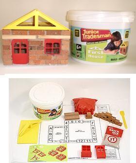 La primera casa, un verdadero juego de construcción