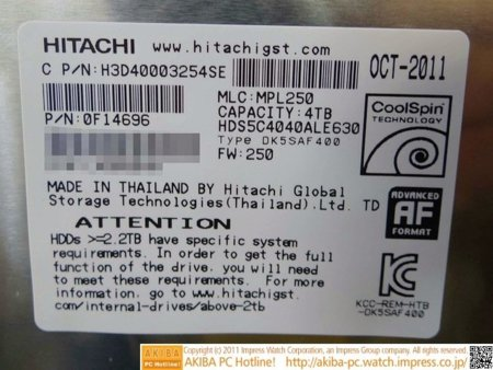 Hitachi 4 TB